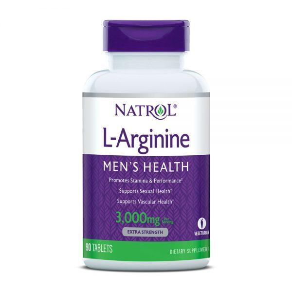 para que sirve l arginine 1000 mg 90 tabs